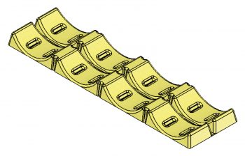 6015 15 inch roll cradle