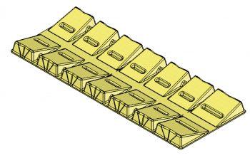 6120-40Lg 20-40 inch long roll cradle
