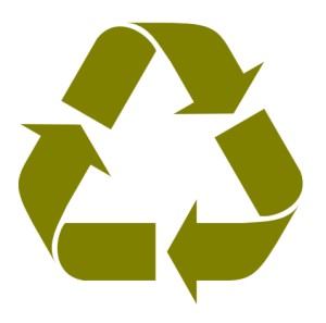 Recycle molded fiber